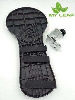 MYLEAF JKV8BK ที่วางเมาส์และที่วางแขน - Deluxe (สีดำ) (image 2)