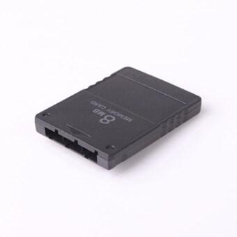 โอไม่ระบุ 8เมกะไบต์ 8แผ่นการ์ดหน่วยความจำแบบขยายสำหรับ Sony Playstation 2 PS2 บางระบบเกม