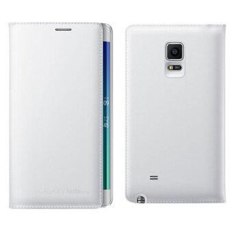 ข่าวหนังอีกเคสหรูสำหรับ Samsung Galaxy Note Edge N9150 (ขาว)