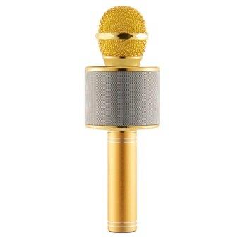 awei168thai รุ่น WS-858 Microphones เครื่องเล่นคาราโอเกะ บลูทูธ ไร้สาย ไมโครโฟนคอนเดนเซอร์ ลำโพง ในตัวเดียว