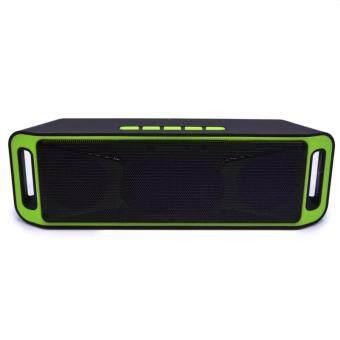SC208 Wireless Speaker Super Bass Bluetooth ลำโพงบลูทูธ รุ่น BS-2