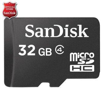 check ราคา Sandisk Micro SD Class 4 32GB SDSDQM_032G_B35 รีวิวสินค้า