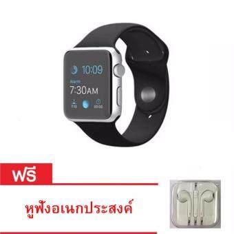 Smart Watch นาฬิกาบลูทูธมีกล้อง ใส่ซิมได้ รุ่น A8 (black) แถมหูฟัง