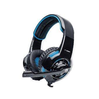 Marvo หูฟัง เกมมิ่ง 7.1 USB รุ่น H-8654 (สีน้ำเงิน)