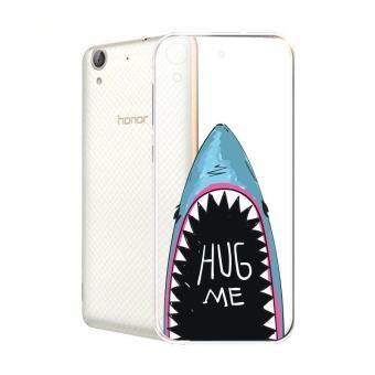 Hug Case TPU เคส Huawei Y6 II เคสโทรศัพท์พิมพ์ลาย HugMe เนื้อบาง 0.3 mm