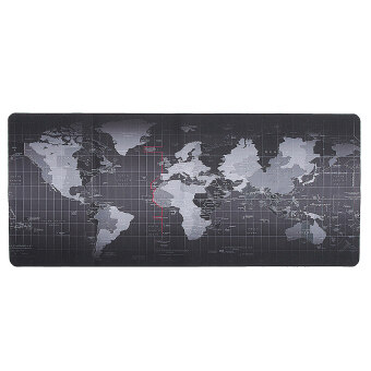 Harga World Map Speed Game Mouse Pad Mat Laptop Gaming Mousepad - intl