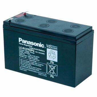 Panasonic แบตเตอรี่แห้ง รุ่น LC-V127R2NA 12V 7.2Ah