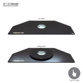 แท่นหมุนทีวี 360 องศา สามารถรับน้ำหนักได้ถึง 30 กก.ด้วยกระจกนิรภัย (Tempered Glass) หนา 8 มม. รุ่น AV-Rotation for LG