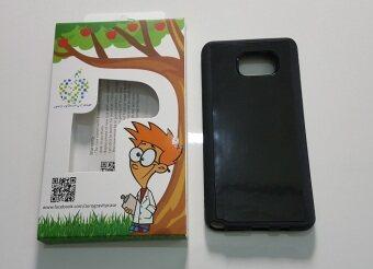mega tiny Samsung Note 5 สีดำ anti gravity case เคสดูดกระจก