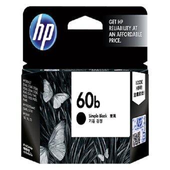 HP ตลับหมึกอิงค์เจ็ท 60b Ink Cartridge (CC636WA) - Black