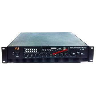 D.J เครื่องขยายเสียงสเตอริโอ ECHO KARAOKE 3000 วัตต์ +USB รุ่นDJ-5700