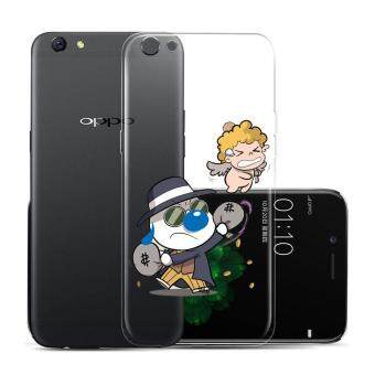 Hug Case TPU เคส Oppo R9s เคสโทรศัพท์พิมพ์ลาย Money เนื้อบาง 0.3 mm