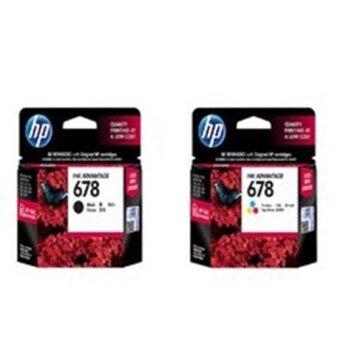 HPหมึกพิมพ์Inkjetรุ่นHp678Co Black/Color