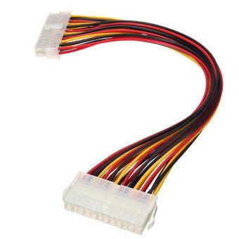 ATX 24 pin กับหญิงชายขยายภายในคอมพิวเตอร์ม, อ.ทีดับบลิวเคเบิลพลังงานนำ 30ซม