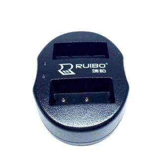 DUAL CHARGER NP-W126 แท่นชาร์จแบตกล้องแบบคู่ ชาร์จทีละ2ก้อน USB Dual Battery Charger for Fujifilm Rechargeable Li-ion Batteries NP-W126