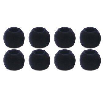 จุกโฟมสำหรับหูฟังอินเอียร์ รุ่น TS400 4 คู่ (สีดำ)