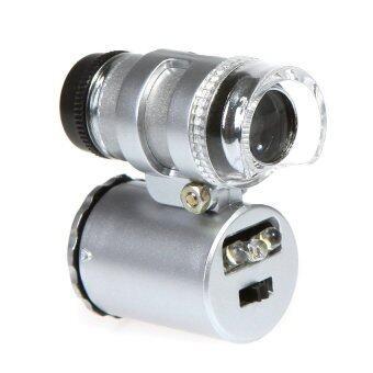 dubbletool กล้องจุลทรรศน์ขนาดเล็ก กำลังขยาย 60 เท่า