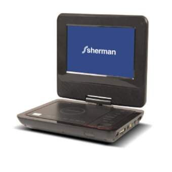 SHERMAN เครื่องเล่นดีวีดีพกพา TP601
