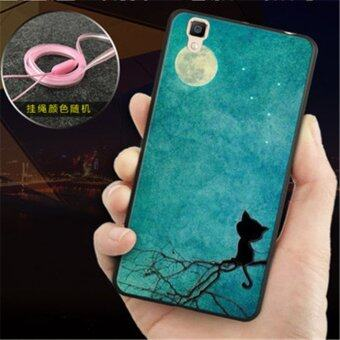 Harga Soft TPU Silicon Transparent Thin Cover Case For Oppo R7s Silicone Phone Cases - intl