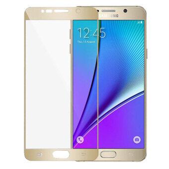ครอบกันรอยหน้าจอแบบแก้วยามอารมณ์สำหรับ Samsung Galaxy Note 5 (ทอง)