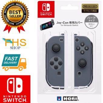 FHS Crystal Protector for Nintendo Switch  เคสใสใส่จอยชุด 2 ชิ้น ใส่จอยคอนNintendo Switch(HARD TYPE)