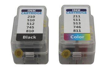 ขายถูก Canon Ink PG-810/PG-811 (Black & Color)ตลับหมึกอิงค์แบบเปลี่ยนสำลี Best 4 U ขายดี