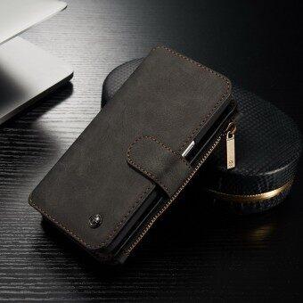 จริง ๆ ถอดฝากระเป๋าสตางค์หนังอีกเคสบูธสำหรับ Samsung S7 Edge/