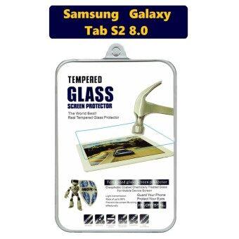 HD Crystal ฟิล์มกระจกนิรภัย Tablet เกรดพรีเมี่ยมแบบใส สำหรับ Samsung Galaxy Tab S2 8.0