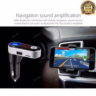 maoxin ของแท้100% บลูทูธในรถยนต์ BC09B Bluetooth Car Charger FM Modulator car kit Wireless FM