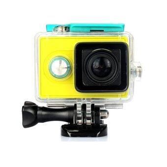 Kingma เคสกันน้ำ Waterproof case Yi Action camera (เขียว)