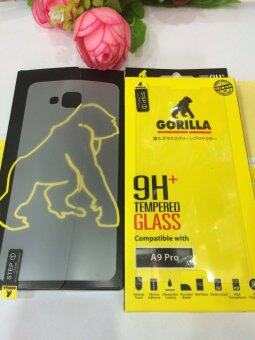 Gorilla กระจก นิรภัย กันจอแตก A9 Pro,ชิวหลัง A9Pro
