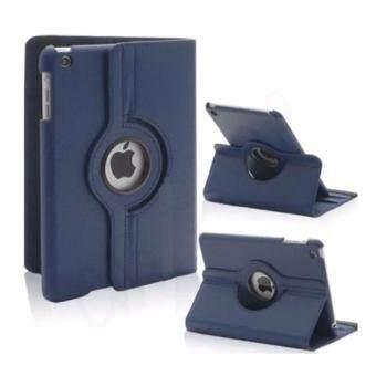 Case Phone เคส ไอแพดแอร์ 2 รุ่น หมุน360องศา For iPad Pro Air2 360 degree rotating (สีกรมท่า)