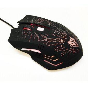 เช็คราคา Nubwo RAIDEN Game Mouse รุ่น NM-68 (สีดำ) ขายถูก