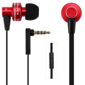 Awei e-900i 1.2แผ่นหูฟังกับไมค์สำหรับโทรศัพท์เคลื่อนที่แท็บเล็ตพีซี (สีแดง)