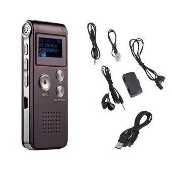 Recorder เครื่องอัดเสียง +MP3 รุ่น SK-012 8GB (สีน้ำตาล)