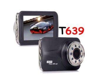 Sml Tech T639 กล้องติดรถยนต์ WDR และ Parking Monitor หน้าจอใหญ่ 3.0นิ้ว