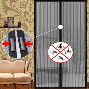 ตาข่ายดักยุงแมลงบิน...ม่านมุ้งตาข่ายมุ้งลวดประตูมุ้งแม่เหล็ก (image 2)