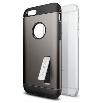 SPIGEN เคส Apple iPhone 6 / 6S case Slim Armor (Gunmetal)