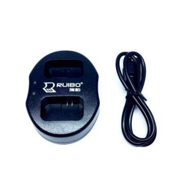 DUAL CHARGER SONY NP-FW50 แท่นชาร์จแบตกล้องแบบคู่ ชาร์จทีละ2ก้อน USB Dual Battery Charger for for Sony NP-FW50