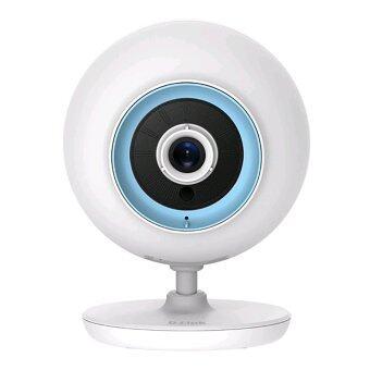 D-link กล้อง IP พูดคุยโต้ตอบได้พร้อมช่องใส่Micro SD รุ่น DCS-820L (สีขาว)