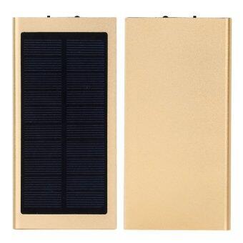 SWN POWER BANK SOLAR แบตสำรองมือถือโซล่า 50000 mAh รุ่น สลิม (GOLD)