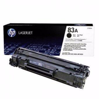 HP ตลับหมึกแท้ HP MonoLaser CF283A(83A)BK สีดำ (MFP M125,M127,M201,M225)