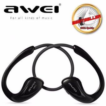 AWEI Wireless A880BL (ของแท้) Bluetooth V4.0 Headphones Sports Stereo Earphones