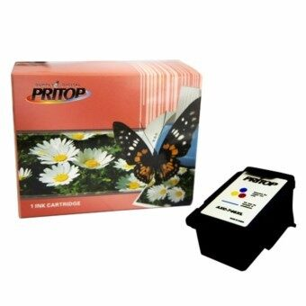 Pritop/Canon ink Cartridge CL746/CL 746XL/CL-746XL/ CL-746XL ใช้กับปริ้นเตอร์ Canon Inkjet IP2870/MG2570/MG2470