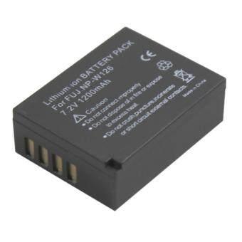 แบตกล้องรหัส NP-W126 / FNPW126 แบตเตอรี่กล้องฟูจิ Fujifilm FinePix HS30EXR, HS33EXR, X-Pro1, X-E1, X-E2, X-M1, X-A1, X-A2, X-T1, X-T10 .. Replacement Battery for Fujifilm