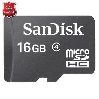 รีวิว Sandisk Memory Micro SD Class 4 - 16GB SDSDQM_016G_B35 แนะนำ