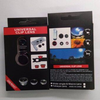 universal clip lens good product เลนส์เสริมกล้องมือถือ