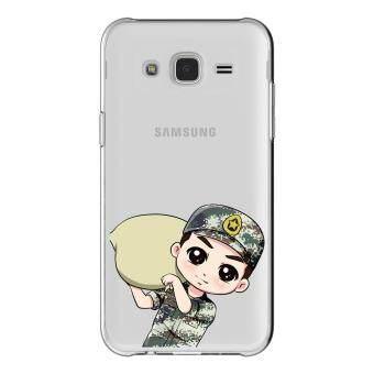 HugCase TPU เคส Samsung Galaxy Grand 2 เคสโทรศัพท์พิมพ์ลาย Soldier เนื้อบาง 0.3 mm