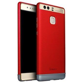 iPaky 2ใน1 อันฝาด้านหลังเคสคอมพิวเตอร์สำหรับ Huawei Ascend P9 (สีแดง)