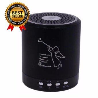 SEVEN SHOP Bluetooth Mini Speaker ลำโพงบลูทูธ พกพา มีวิทยุFM ไฟกระพริบ รุ่น